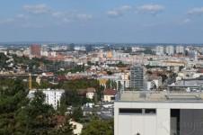 Bratislava, výhľad zo Slavína
