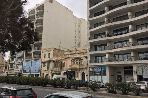Malta architektúra Sliema