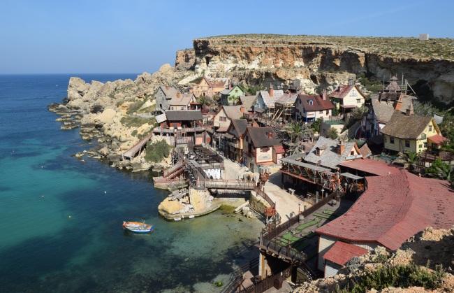 Pepek námorník dedinka