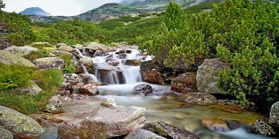 Vodopády kaskády vysoké tatry PR článok