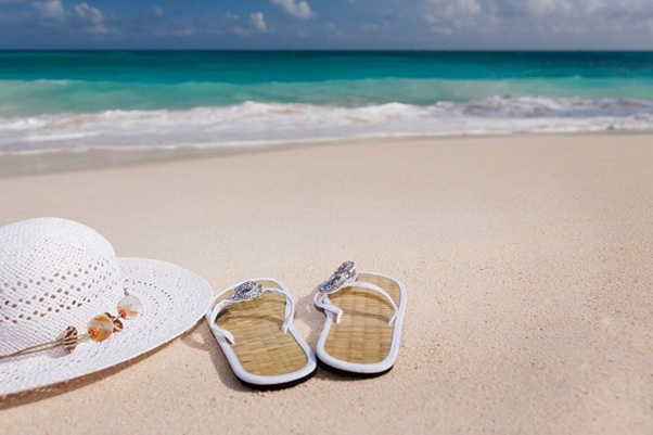 obuv na pláž žabky