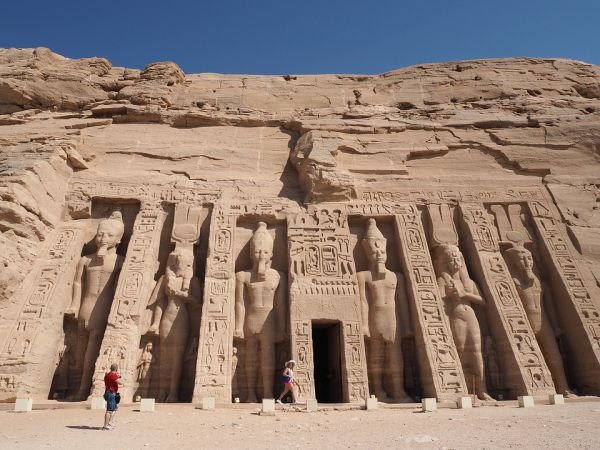 Egypt a Luxor, pamiatky egypta