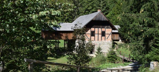 Mlyn z KLubiny v Múzeu Kysuckej dediny vo Vychylovke